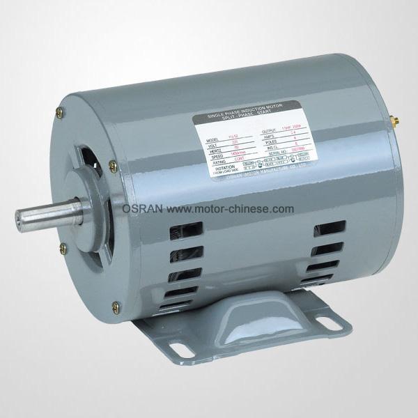 52 fractional motor single phase motor induction motor for Single phase motor efficiency